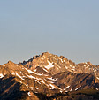 [Morning glow] - Olympic mountains, dawn, sunrise, early morning light, snow
