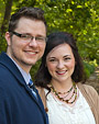 [Brandon and Dana] - wedding, outdoors, portrait, couple