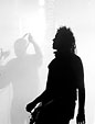 [Silhouettes] - silhouette, black and white, concert, robin finck