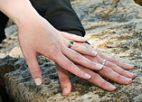 [Wedding ring hands] - KU campus, wedding photography, hands, rings, love